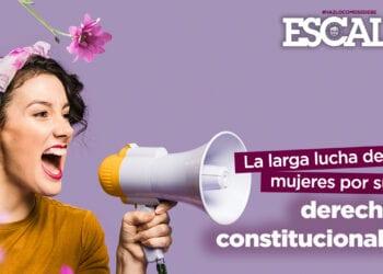 lucha de las mujeres por sus derechos constitucionales