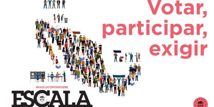 Votar, participar, exigir