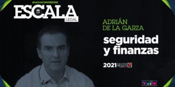 Adrián de la Garza, seguridad y finanzas