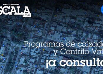 Programas de calzadas y Centrito Valle ¡a consulta!